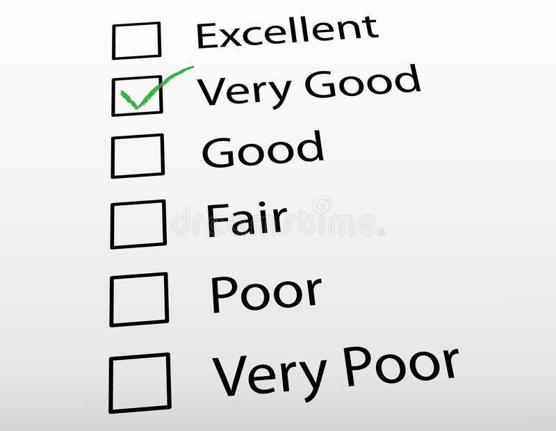 Satisfaction Survey Stock Photo  Image