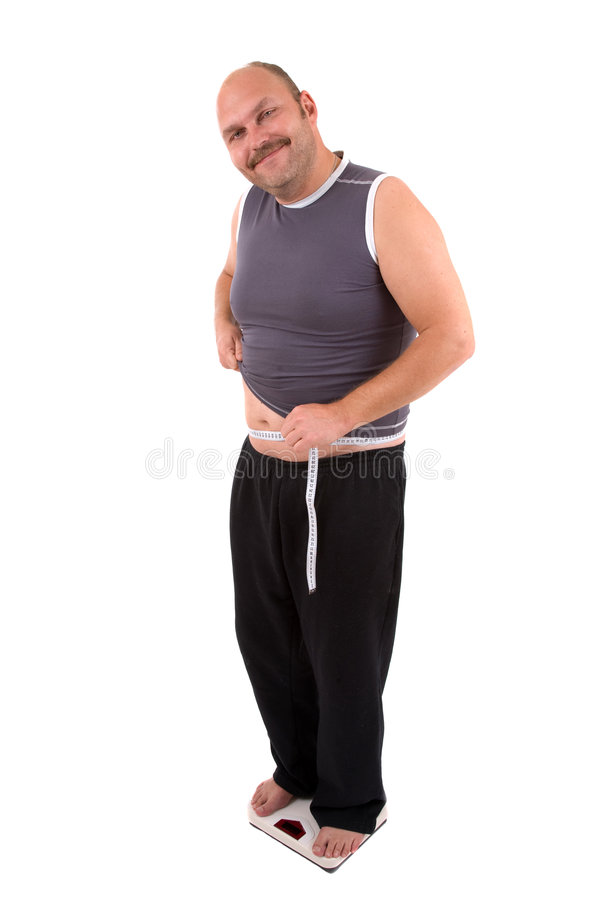Download Satisfied grin stock image. Image of scale, people, belly - 3312501