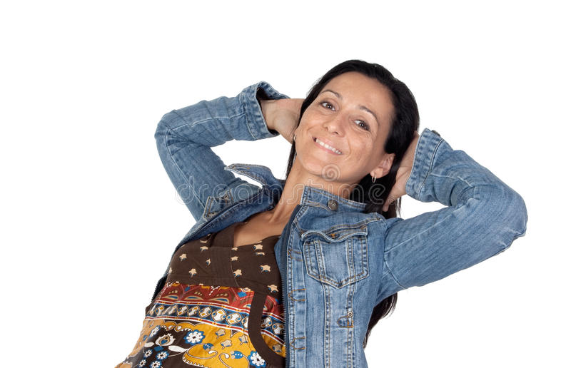 Download Satisfied Woman Stock Image - Image: 11378531