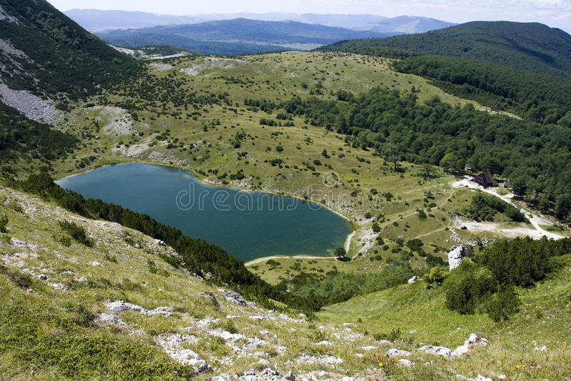 Download Satorsko Lake - In The Western Regions Of Bosnia Stock Image - Image: 10748343