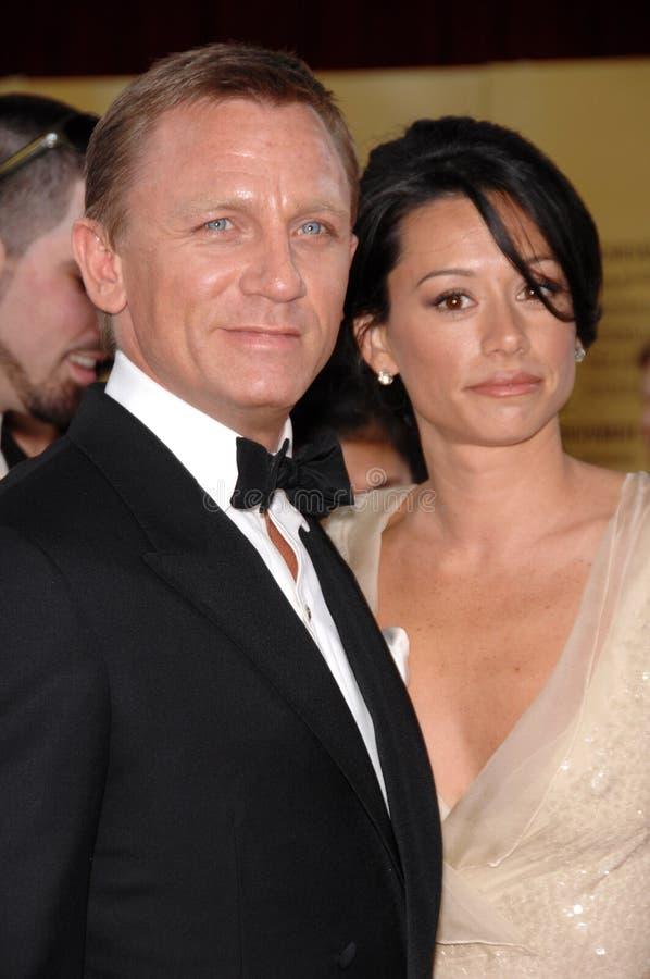 Satsuki Mitchell, Daniel Craig fotografia de stock royalty free