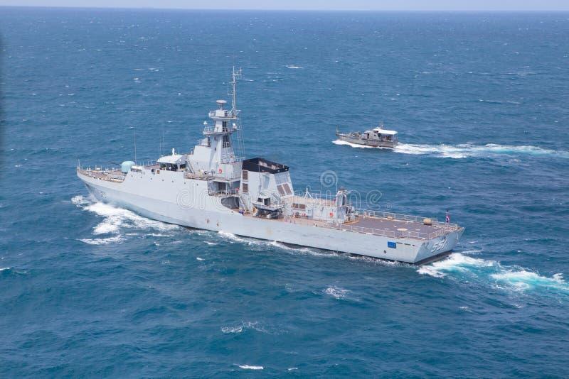 SATTAHEEP, THAILAND - June 21: H.T.M.S. Krabi, an offshore patro