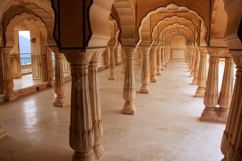 Sattais Katcheri Hall In Amber Fort Near Jaipur Rajasthan