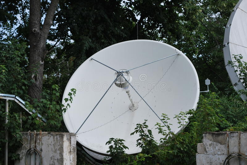 Sattelite dish royalty free stock photo