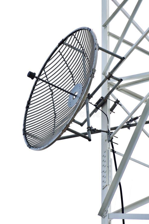 Sattelite disk. For telecommunication and media stock photos