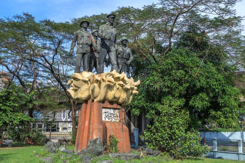 Satue генерала MacArthur стоковое фото rf