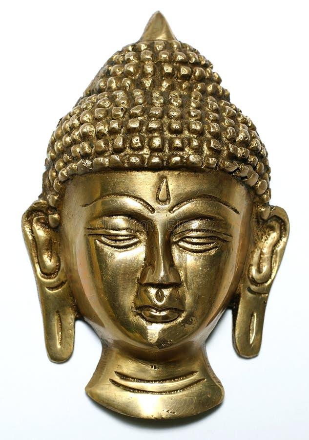Satue Bronze di buddha fotografie stock