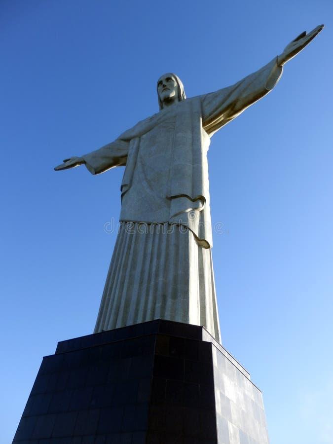 Satue del redentor de Cristo en Rio de Janeiro fotos de archivo