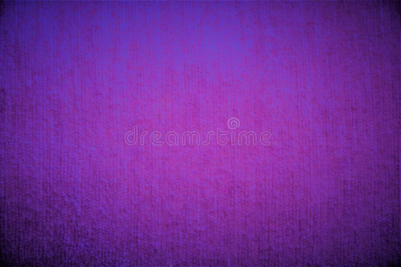 Purple violet textile velvet fabric fluffy fuzzy background. Saturated deep soft pastel bright pink crimson textile velvet fabric fluffy fuzzy background with stock illustration