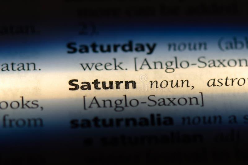 saturn stockfoto
