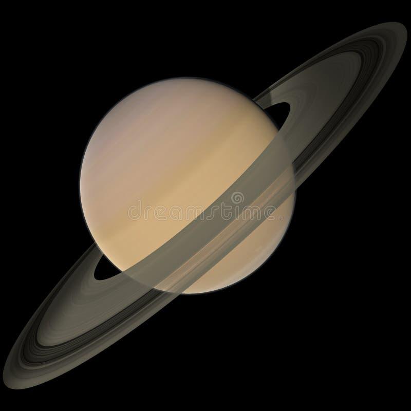 Download Saturn stock illustration. Illustration of planet, europa - 13043707