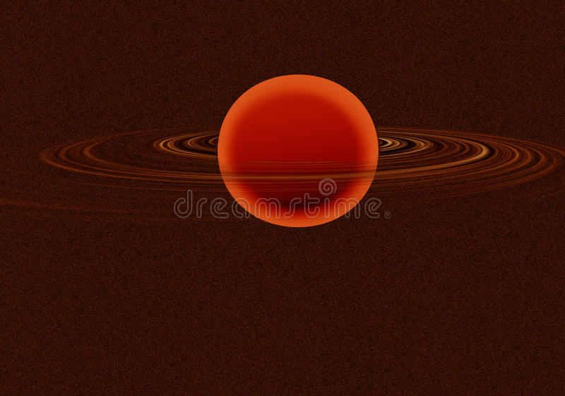 Download Saturn stock illustration. Image of ring, blue, light - 23429866