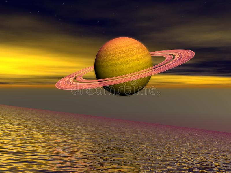 Download Saturn stock illustration. Illustration of fantasy, illustration - 24337254