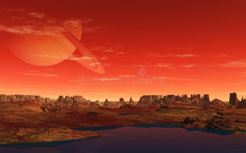 Saturn stock illustratie