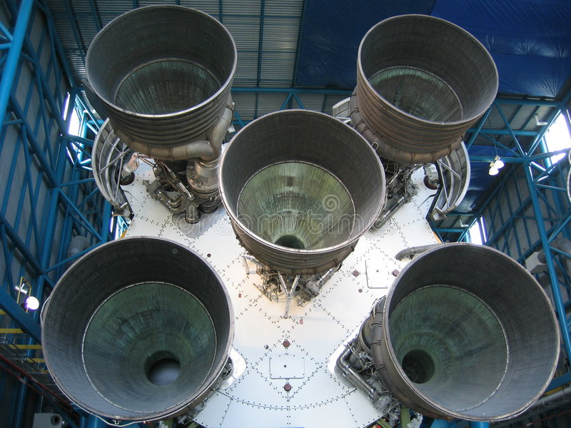 Saturn 5 zdjęcia stock