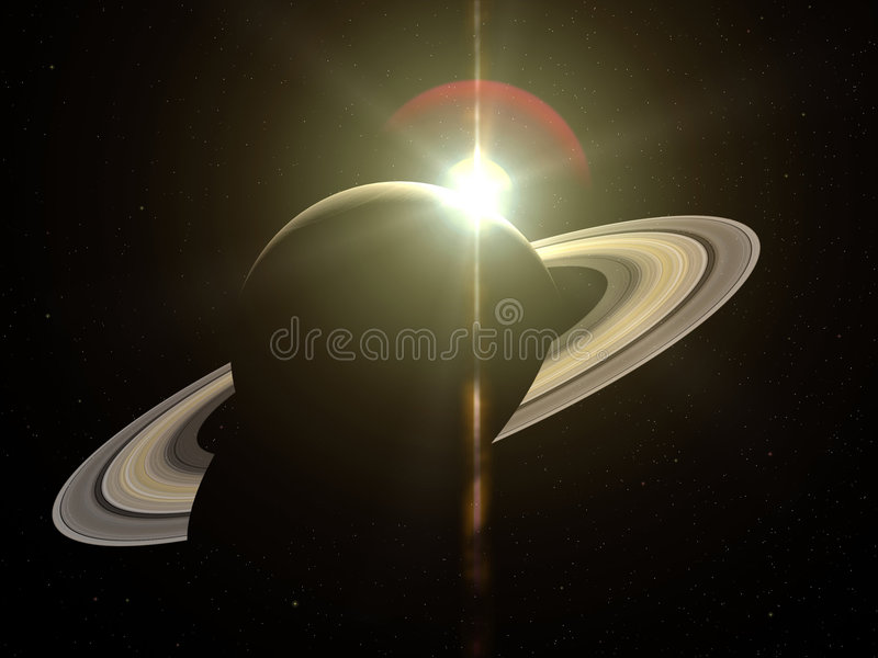 saturn stock illustrationer