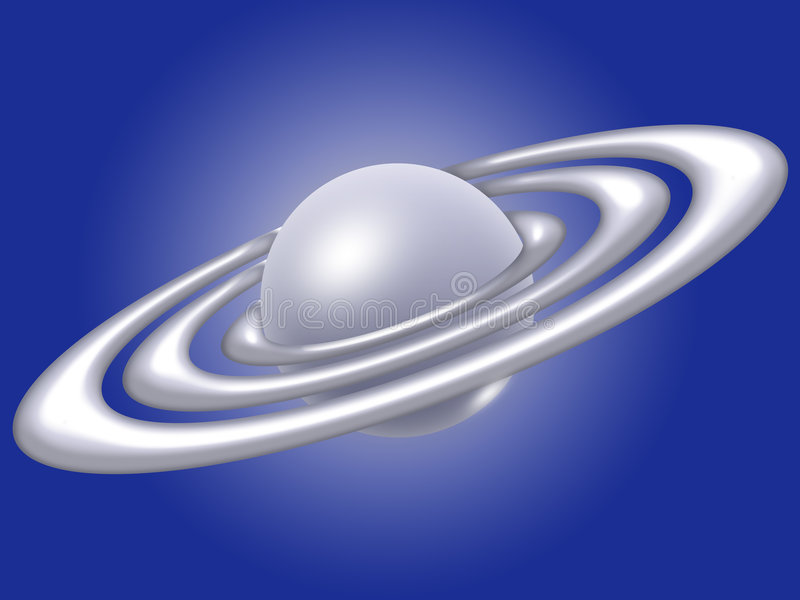 Download Saturn stock illustration. Illustration of asteroid, sphere - 9078937