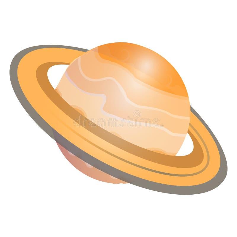 Saturn-planeetgradiënt royalty-vrije illustratie
