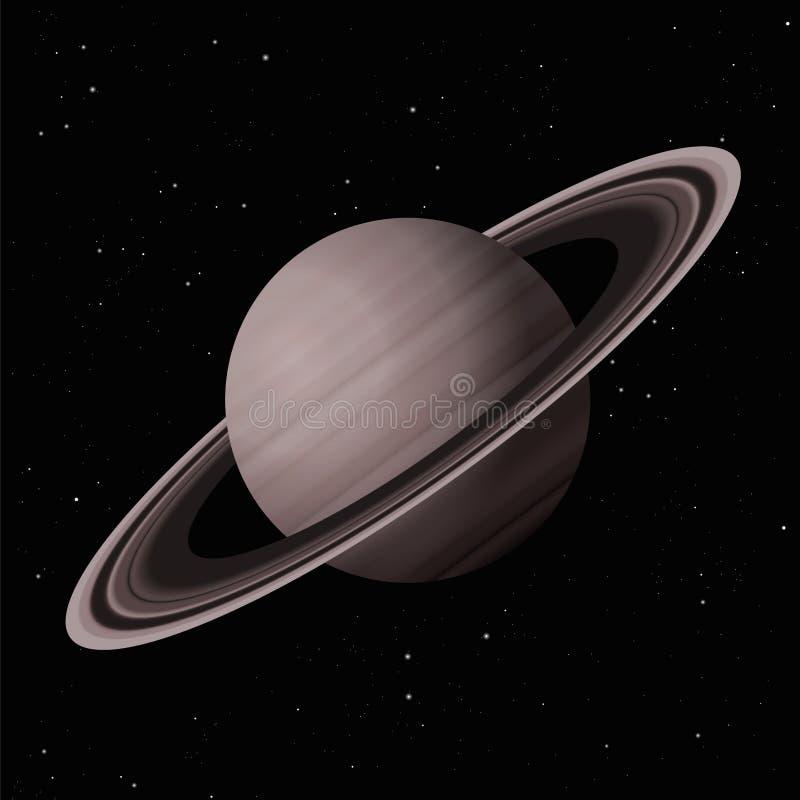 Saturn planet stock illustrationer