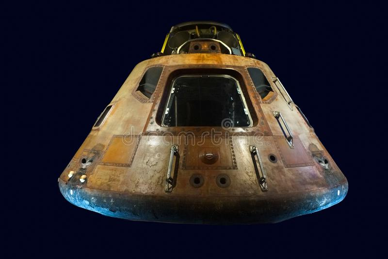 Saturn 5 Ruimtecapsule stock fotografie