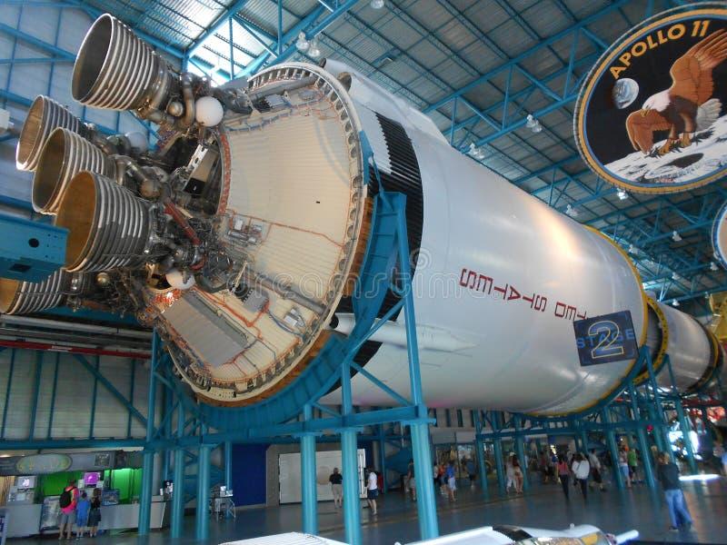 Saturn-V-motorpijpen royalty-vrije stock fotografie