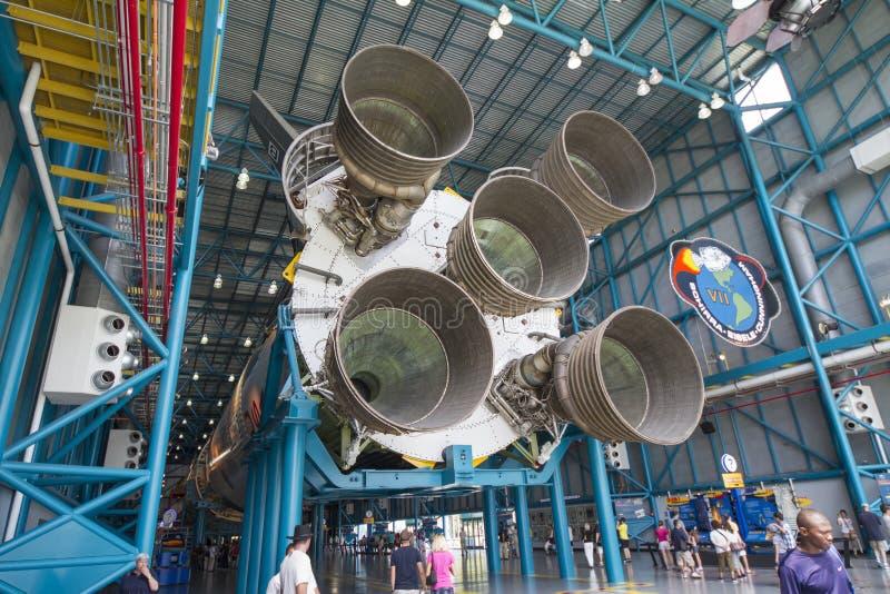 Saturn-V-Rakete stockfoto