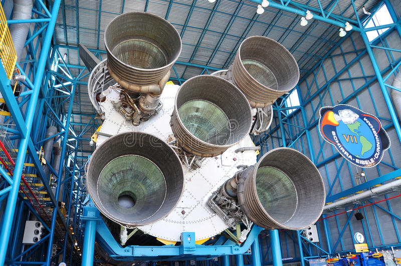 Download Saturn V Rocket Engines, Cape Canaveral, Florida Editorial Stock Photo - Image: 22812218