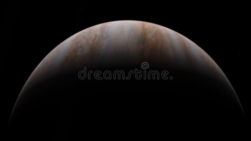 saturne Papier peint de l'espace de la science-fiction, planètes incroyablement belles, galaxies, obscurité et beauté froide de s images stock