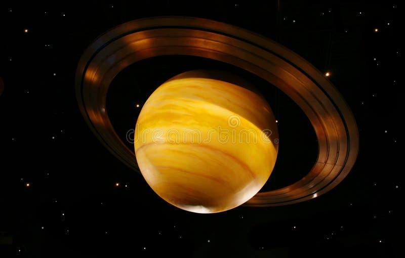 Saturno fotografie stock