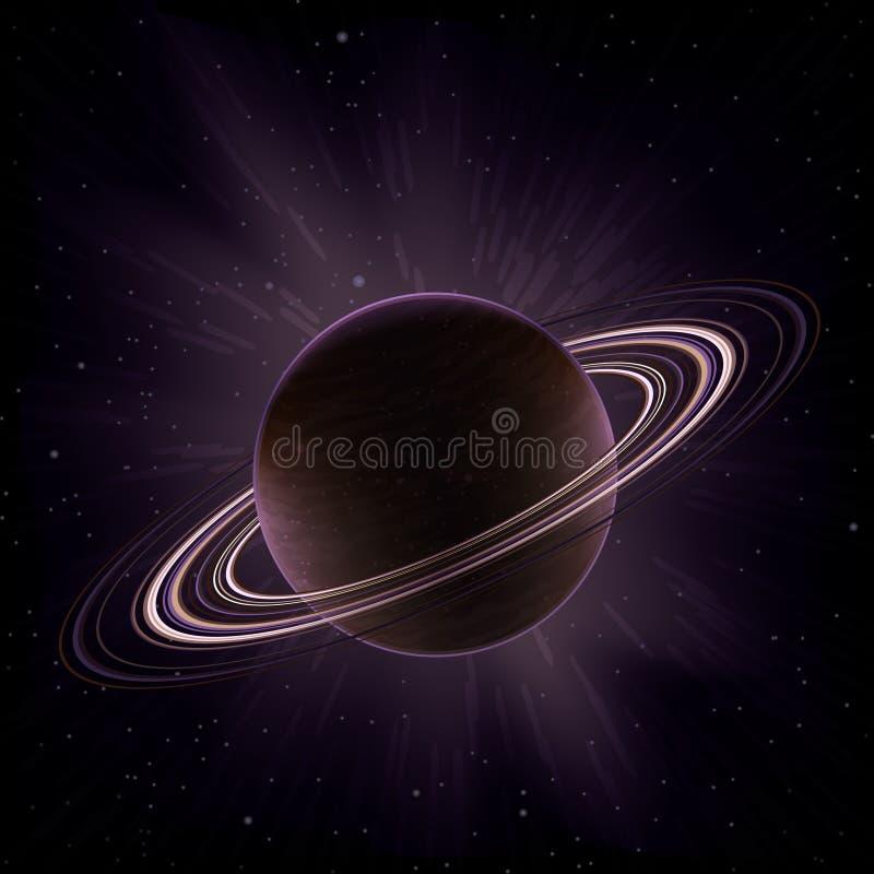 Saturno ilustración del vector