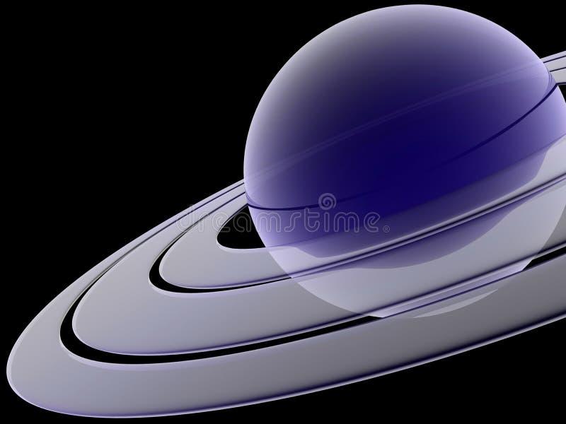 Saturno ilustração royalty free