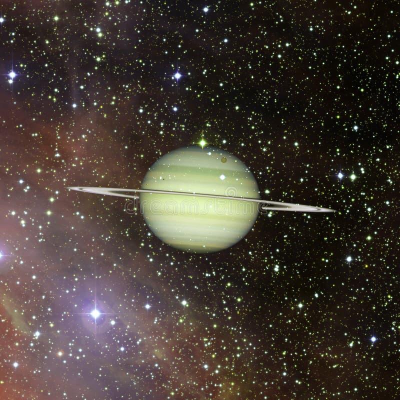 saturno Elementos desta imagem fornecidos pela NASA ilustração stock