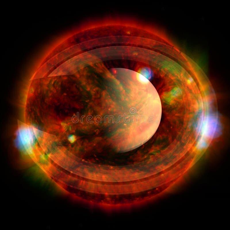 saturno Elementos desta imagem fornecidos pela NASA foto de stock royalty free
