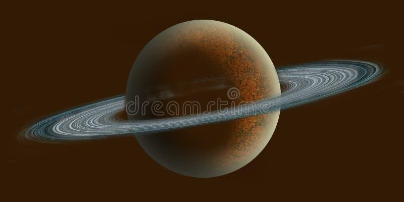 Saturnus illustration libre de droits
