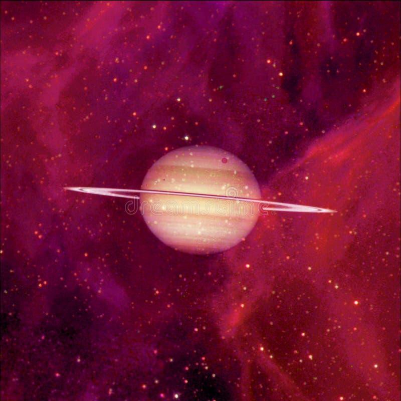 saturnus Elementen van dit die beeld door NASA wordt geleverd vector illustratie