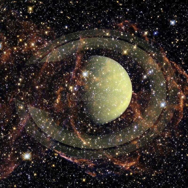 saturnus Elementen van dit die beeld door NASA wordt geleverd royalty-vrije stock foto's
