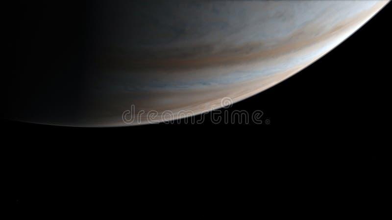 saturnus Science fiction ruimtebehang, ongelooflijk mooie planeten, melkwegen, donkere en koude schoonheid van eindeloos royalty-vrije stock fotografie