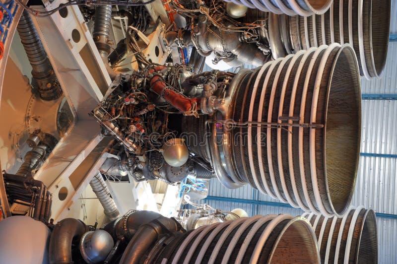 Saturnus V de Motoren van de Raket royalty-vrije stock foto's
