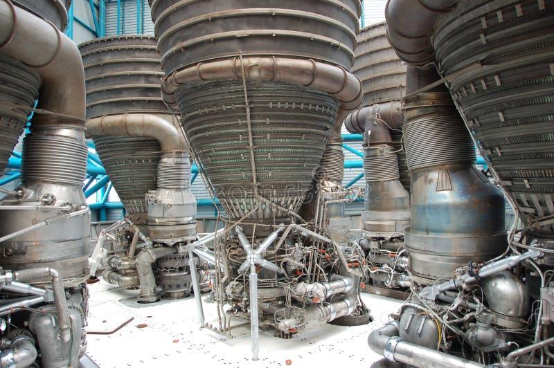 Saturnus V Motoren â stock afbeeldingen