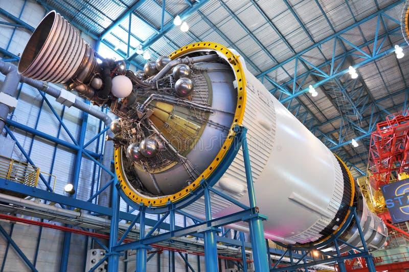 Saturnus V stadium III van de Raket stock afbeelding