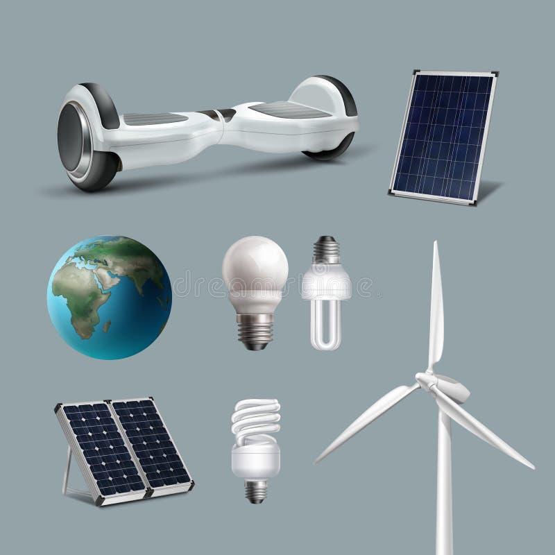 Satz der erneuerbaren Energie vektor abbildung