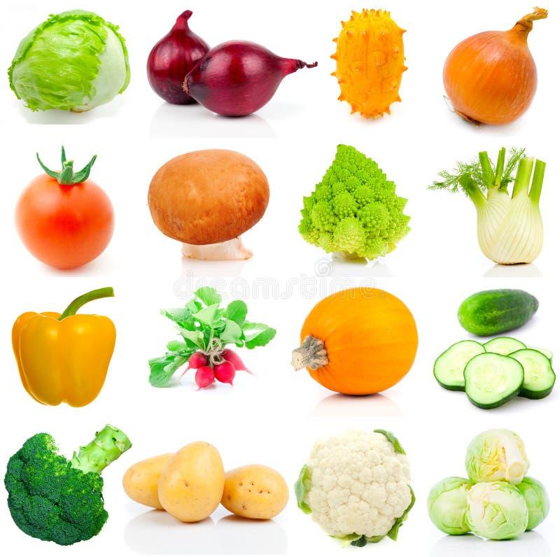 Satz des Gemüses stockfoto
