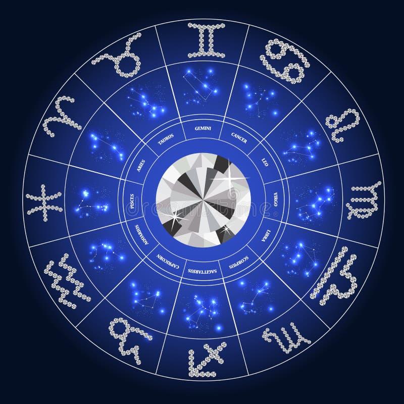 satz des symbol sternzeichen diamanten vektor vektor abbildung illustration von widder magie. Black Bedroom Furniture Sets. Home Design Ideas