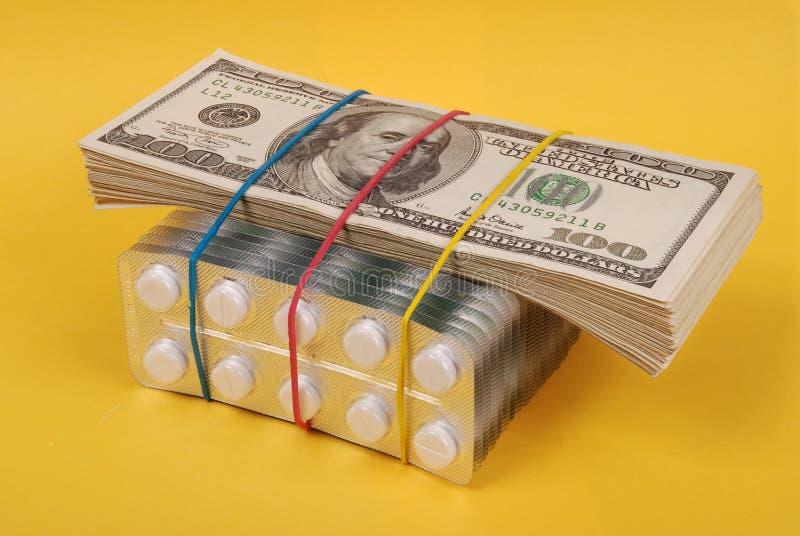 Satz Dollar lizenzfreie stockfotos