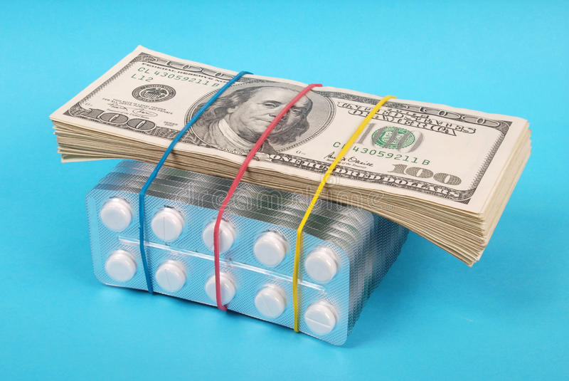 Satz Dollar lizenzfreies stockbild