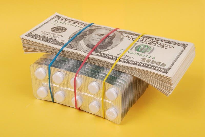 Satz Dollar stockfotos