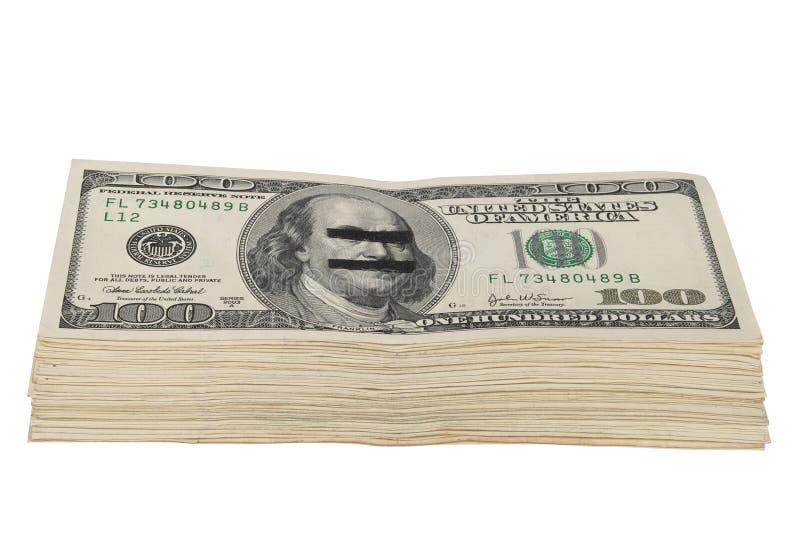 Satz Dollar lizenzfreie stockfotografie