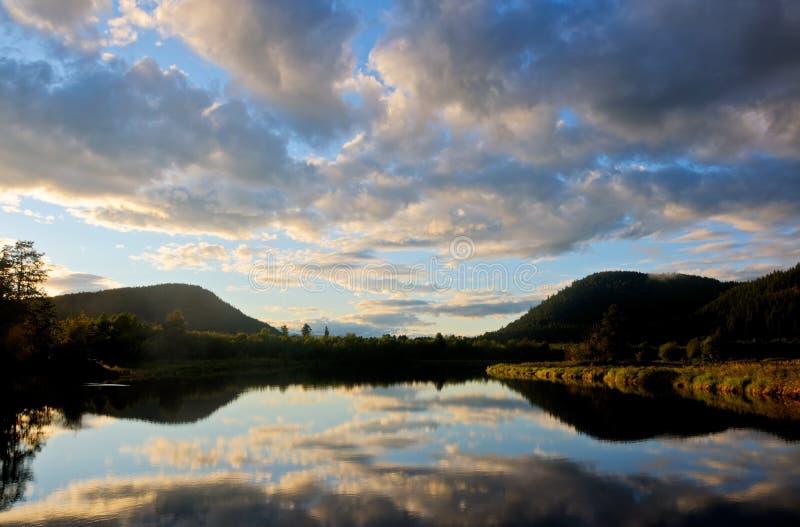 Satz-Fluss, Hoffnung, Idaho stockfotografie