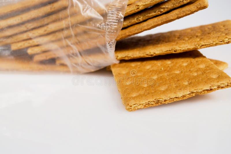 Satz Graham-Cracker stockfoto