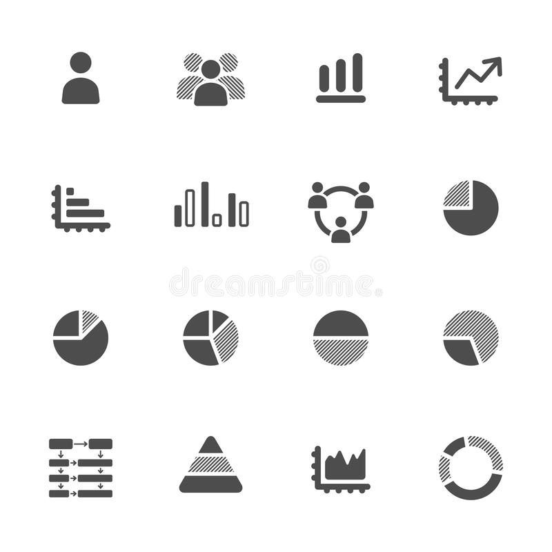 Satz Infographics Elements.Icon stock abbildung